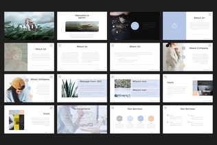 Thumbnail for Skyfy PowerPoint Template