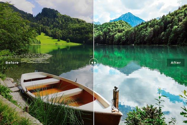 Lake Geneva Mobile & Desktop Lightroom Presets - product preview 5