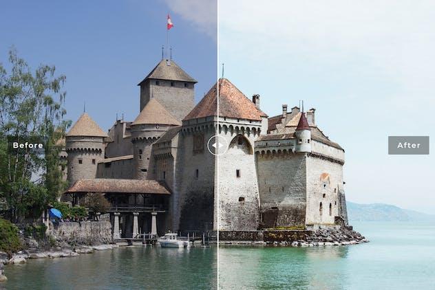Lake Geneva Mobile & Desktop Lightroom Presets - product preview 2