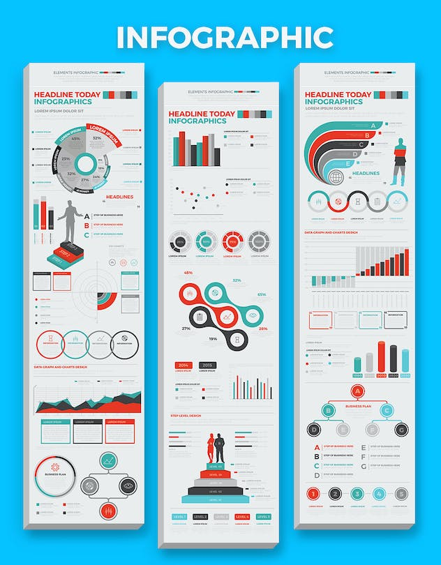Infographics Elements - product preview 4