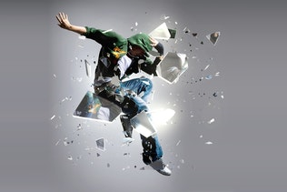 Thumbnail for Shatter Glass Photoshop Action