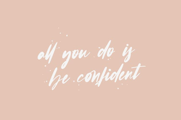 Confidence - Calligraphy Font - product preview 4
