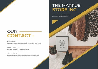 Thumbnail for Markue Store Brochure Template