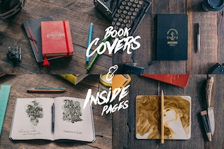 Thumbnail for 50 Notebooks Mockups