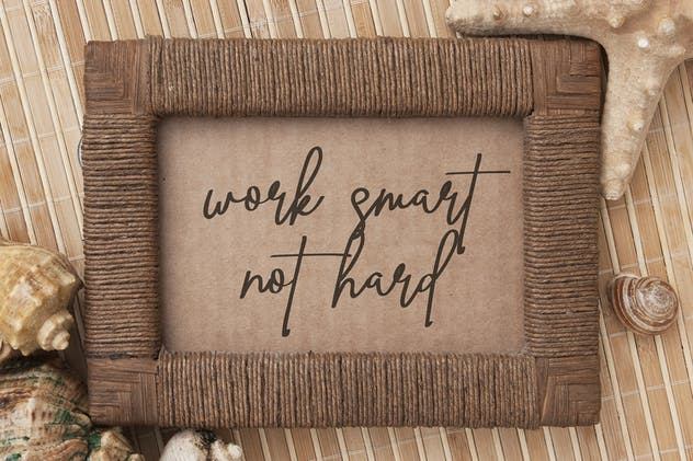 Ving Smith - Handwritten Font - product preview 9