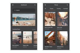 Thumbnail for Sair - Tour & Travel Mobile App UI Kit