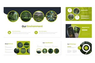 Thumbnail for Forestier - Keynote Template