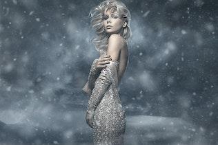 Миниатюра для Зимний Photoshop действие