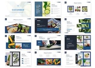 Thumbnail for Cucumber - Google Slides Template