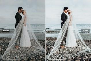 Thumbnail for Rustic Wedding Mobile & Desktop Lightroom Presets