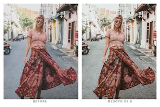 Thumbnail for 20 Boho Chic Lightroom Presets and LUTs