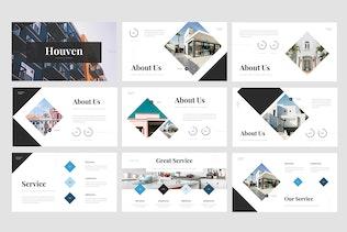 Houven - Real Estate Google Slides Template