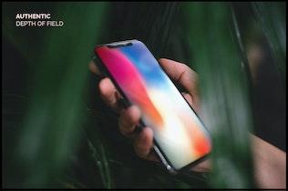 Миниатюра для 10 Аутентичные iPhone X Мокапы