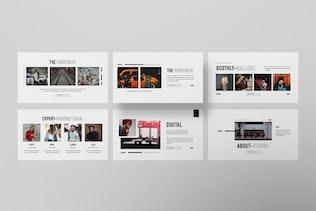 Thumbnail for BOOTHLY Creative Agency Google Slide