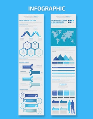 Thumbnail for Бизнес - запуск инфографического дизайна