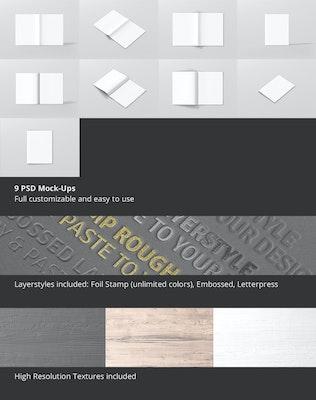 Thumbnail for US Letter Brochure / Magazine Mock-Up