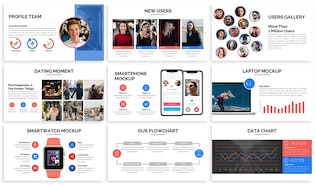 Amora - Dating Powerpoint Template