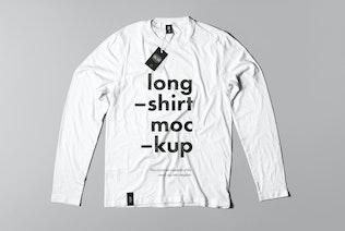 Thumbnail for Long Shirt Mock-up