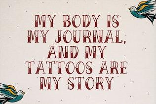 Strong West - Font de tatouage rétro
