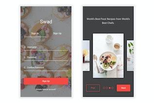Swad - Kit d'interface pour aliments et recettes