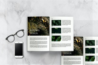 Thumbnail for Natural - Magazine Template