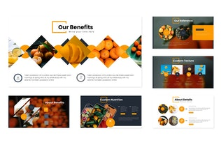 Thumbnail for Oranges - Google Slides Template