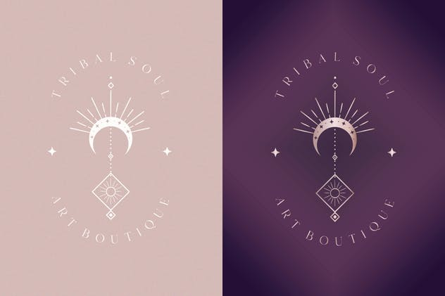 Premade Tribal Soul Designs for Blog. Feminine. - product preview 1