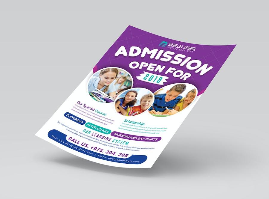 School Flyer by designsoul14 on Envato Elements