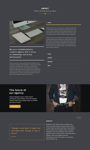 Thumbnail for Avidus - Multipurpose Muse Template for Creatives