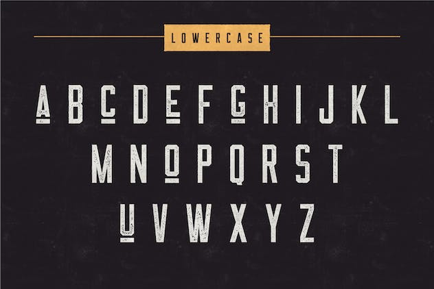 The Farmer Font - Condensed Typeface - product preview 2