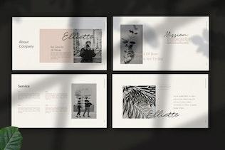 Thumbnail for Elliette - Google Slide Multipurpose Creative