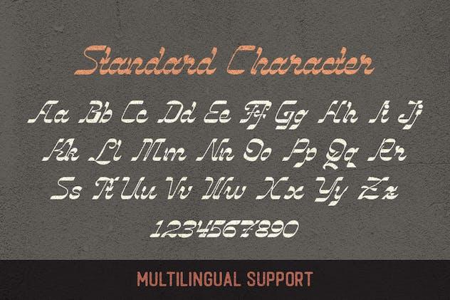 Vindale - Vintage Script Typeface - product preview 4