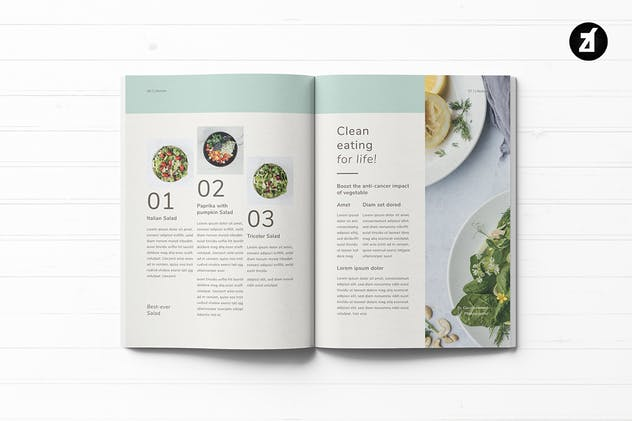 Healthy Lifestyle Magazine - product preview 3