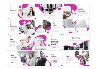 Thumbnail for Penyon - Powerpoint Template