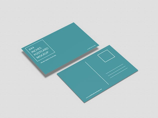 Postcard Mockup - product preview 1