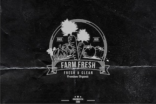 Farm Vintage Badges