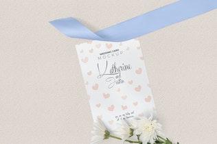 Thumbnail für Hochzeitseinladungs-Mock-ups