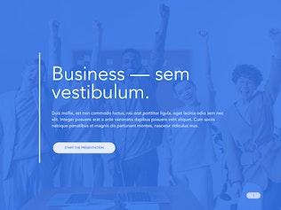 Cobalt Business Google Slides Template