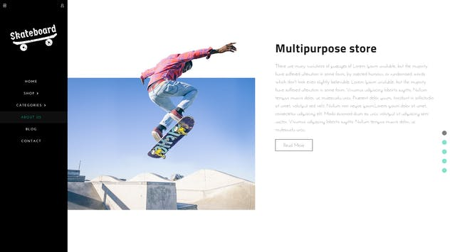 Skate board - Fullscreen Sports Shopify Theme - product preview 2