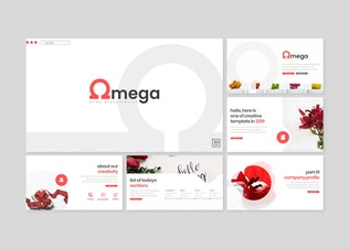 Thumbnail for Omega - Powerpoint Template