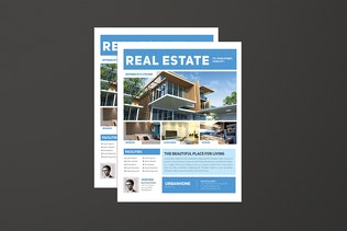 Thumbnail for Minimal Real Estate Flyer