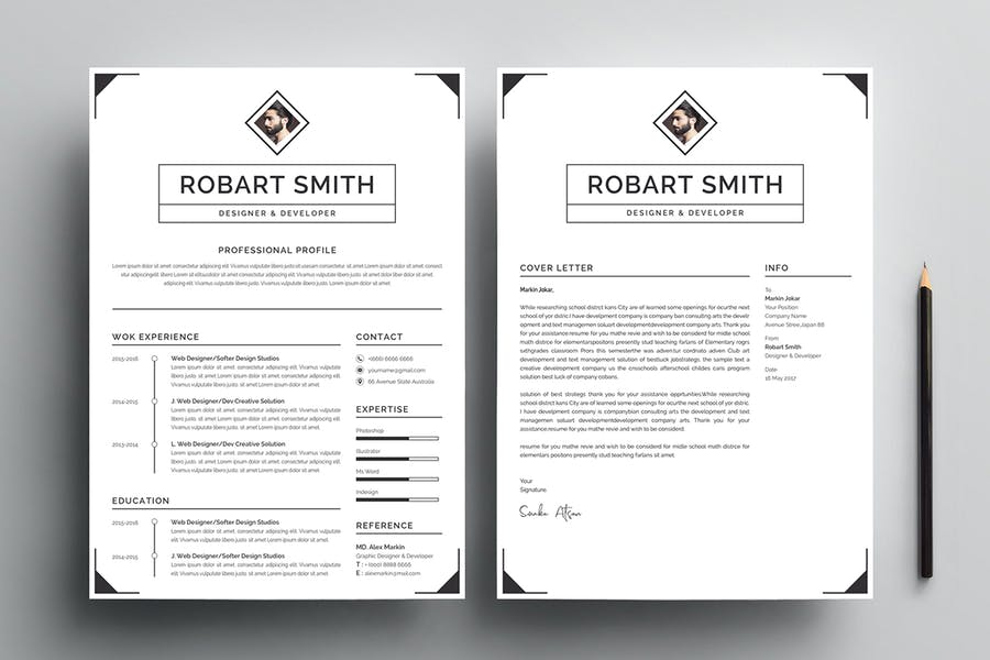 Resume Template 96 - product preview 2