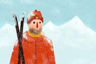 Thumbnail for Snow and Winter Brushes for Adobe Illustrator