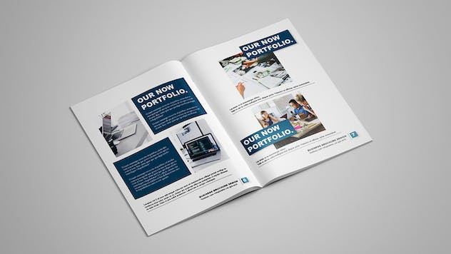 Selected - Business Brochure 12 pages - product preview 4