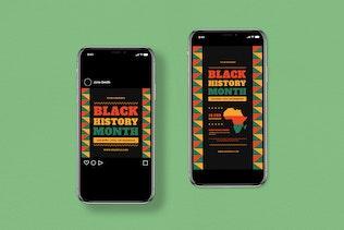 Black History Month Event Flyer Set
