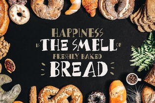 Миниатюра для Хлебные крошки - Вкусный шрифт