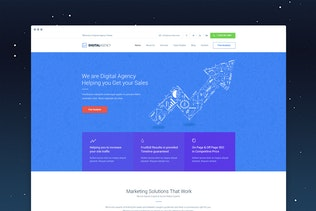 Thumbnail for Digital Agency - SEO / Marketing HTML Template
