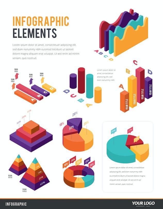 Infographic Examples for Designer V.45