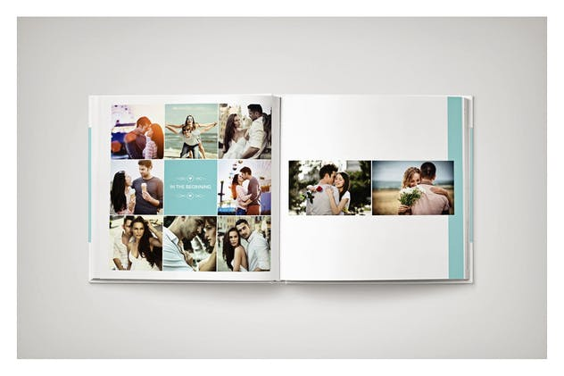 PSD - Minimalist Wedding Album - product preview 11