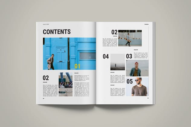 Magazine Template | Petrichor - product preview 1